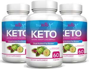 The best exogenous ketones, bottles of TruBodX Keto