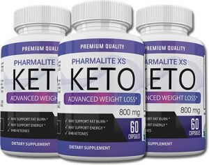 Bottles of Pharmalite XS Keto