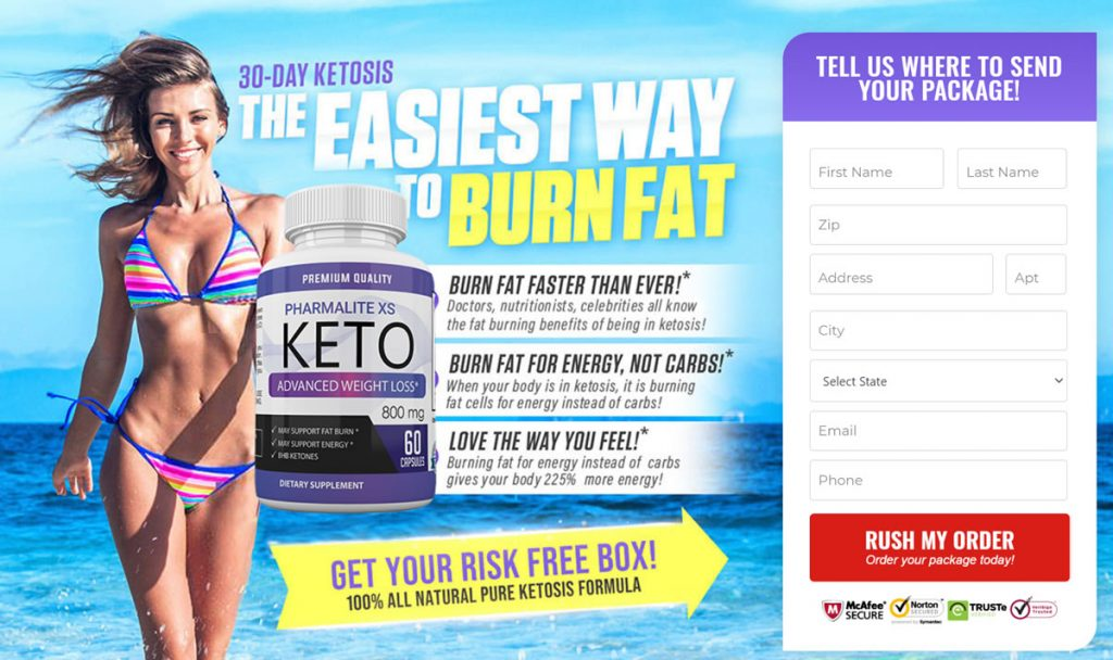 Get a free trial of Pharmalite XS Keto