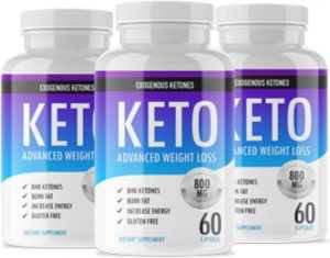 Bottles of Keto Advanced