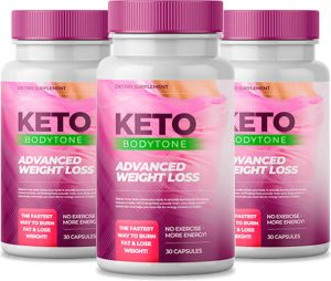 Bottles of Keto Bodytone