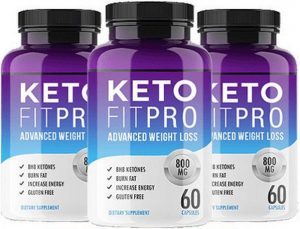 Bottles of Keto Fit Pro