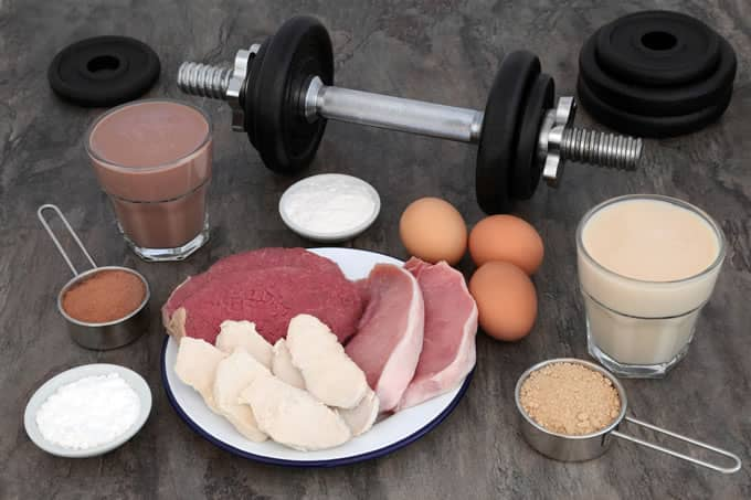 Protein for muscle building doing the keto diet